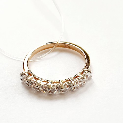 Золото кольцо фианит r01-z-59287-z Россия МЮЗ 16(р)