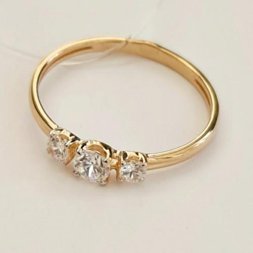Золото кольцо фианит 51-110-00842-1 Россия Cоколов 17(р)