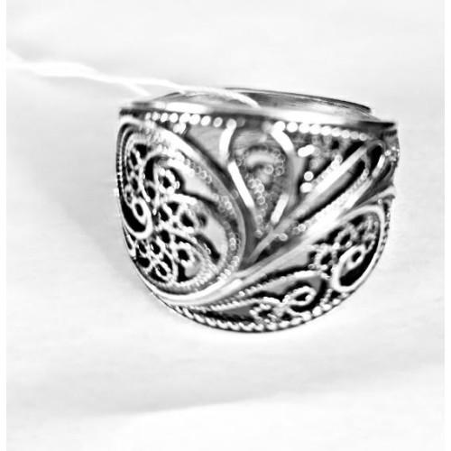 Серебро кольцо без вставок оксид 2308040 Россия Красная пресня 20,5(р)